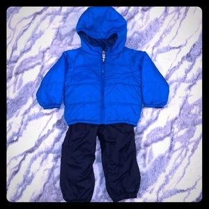 Toddler Reversible Columbia Jacket & Snow Pants